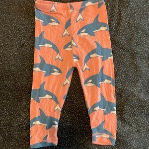 BNWOT 6-12 Kickee Pants Orca pants